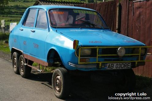 Dacia pe 6 roti