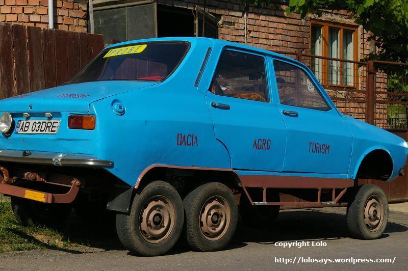 Dacia pe 6 roti 2